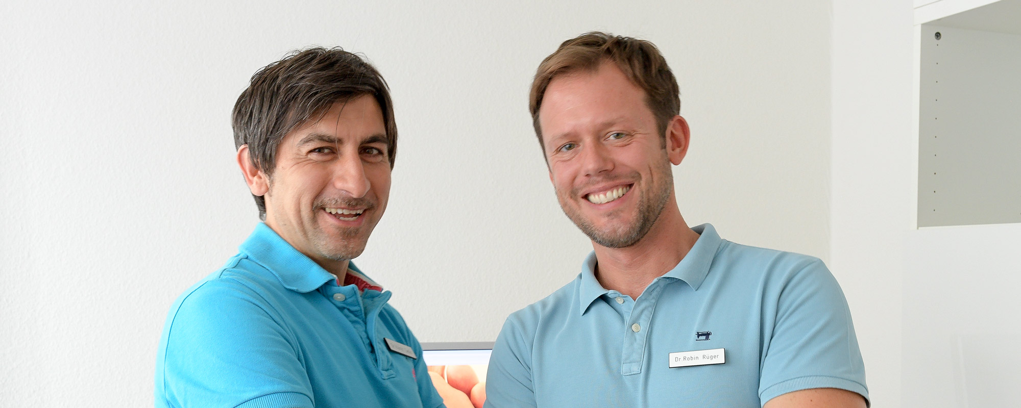 Dr. Cetin (li.) und Dr. Rüger
