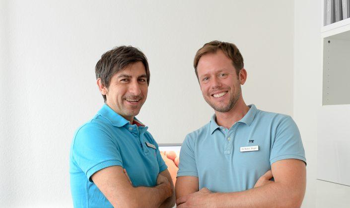 Dr. Cetin (li.) und Dr. Rüger (re.)